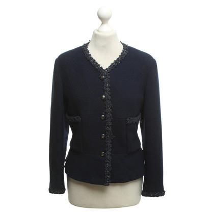 Chanel Short jacket in navy blue