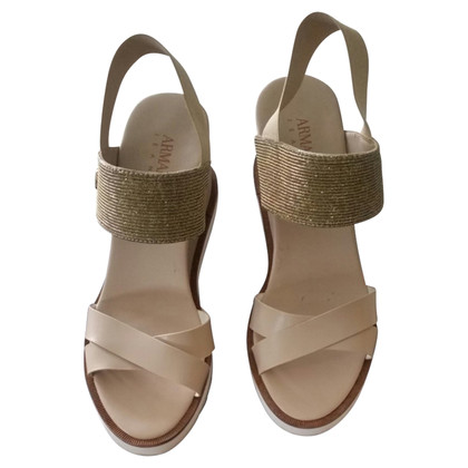 Armani Jeans wedge Sandals