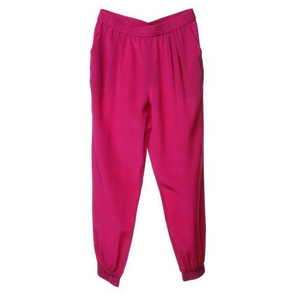 """Diane von Furstenberg Trousers """"Janeta"""" in pink"""