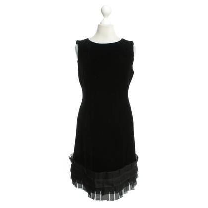 Blumarine Robe de velours noir