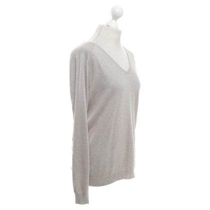 Allude Sweater in grey beige