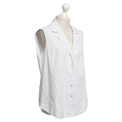 Marina Rinaldi gestreepte blouse