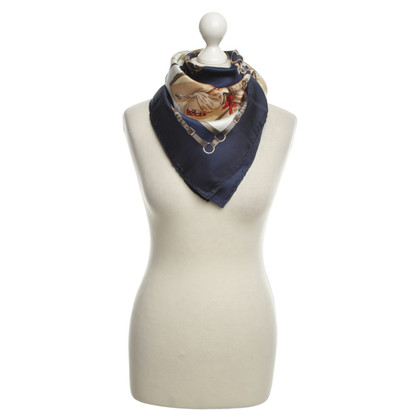 Céline Zijden sjaal met print