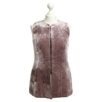 Dries van Noten Vest with velvet trim
