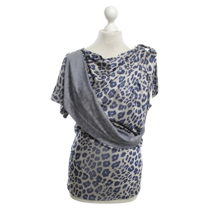 Vivienne Westwood top with pattern