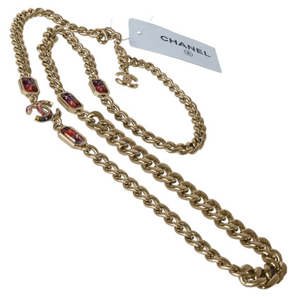 Chanel Necklace with gemstones