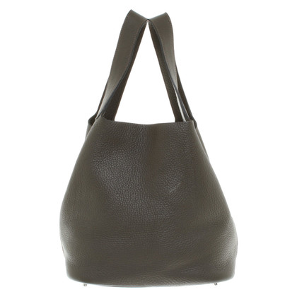 "Hermès ""Picotin Lock Back MM Clemencé Leather"""