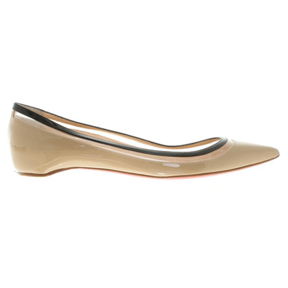 Christian Louboutin Ballerina's patent leather