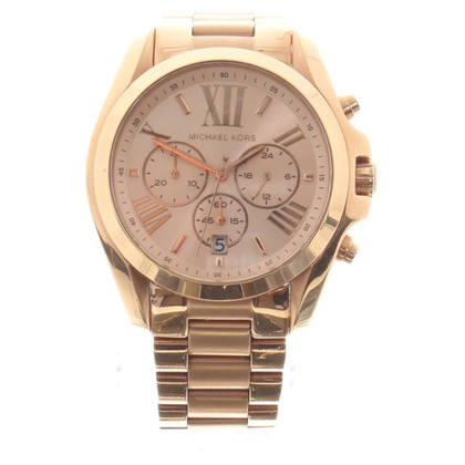 Michael Kors Rosafarbene Armbanduhr