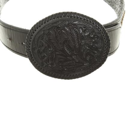 Ralph Lauren Black Label Belt in black