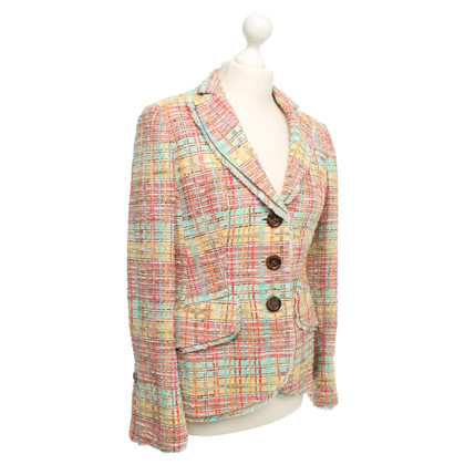 Rena Lange Blazer with colorful patterns