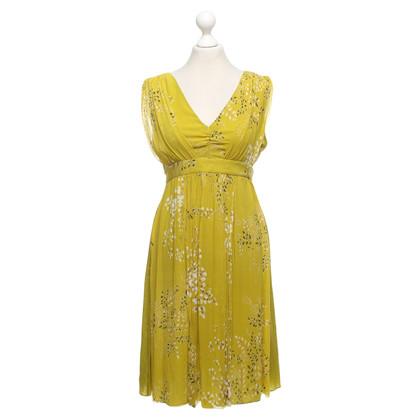 Ted Baker zijden jurk met patroon