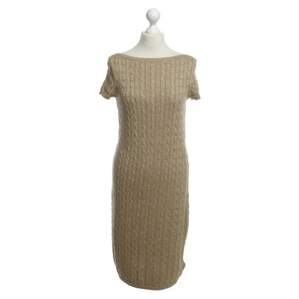 Ralph Lauren Dress with gold effect yarn