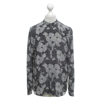 JOOP! Silk blouse with a floral pattern