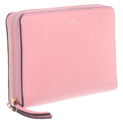 Mulberry Wallet in pink
