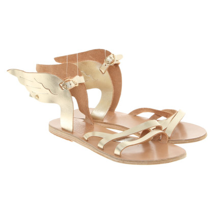 Ancient Greek Sandals Sandals with wing application