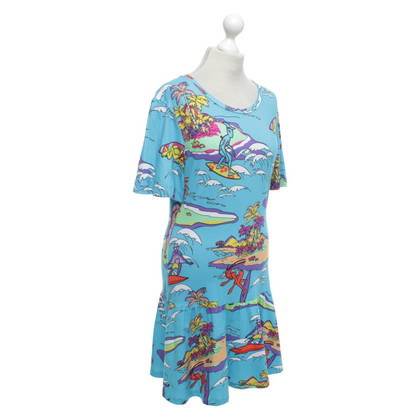Moschino Love Robe avec impression