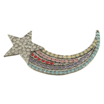 Marc Jacobs Broche avec garniture en strass
