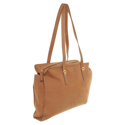 Jil Sander Shopper in Braun
