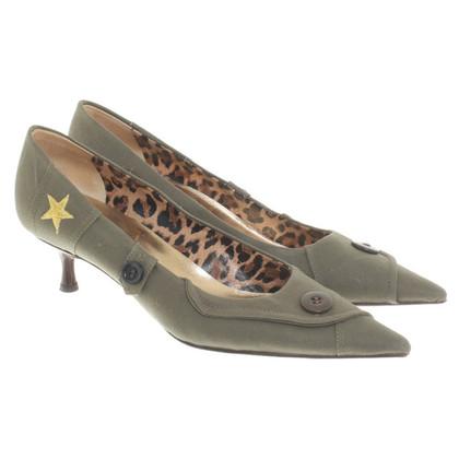Dolce & Gabbana pumps in khaki