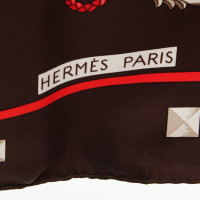"Hermès Seashell with ""Les Cles"" pattern"