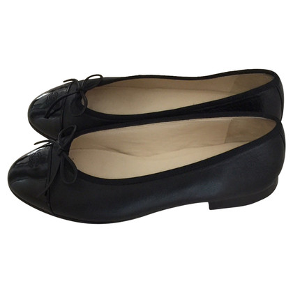 Chanel Uniform Ballerinas in Schwarz