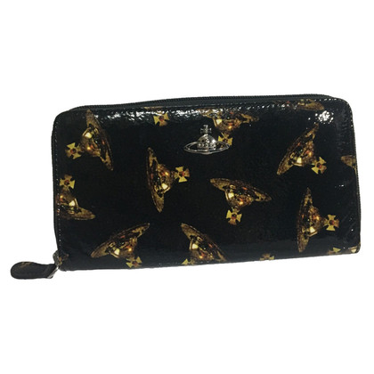 Vivienne Westwood Purse made of black leather