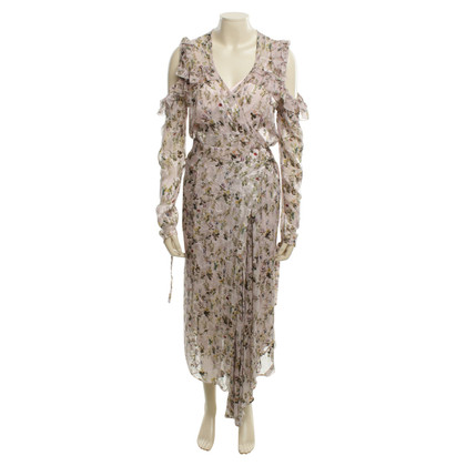 Preen Wrap dress combination