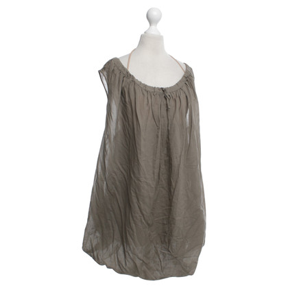 Hussein Chalayan Balloon dress in khaki