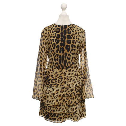 Moschino Cheap and Chic Jurk met luipaard patroon