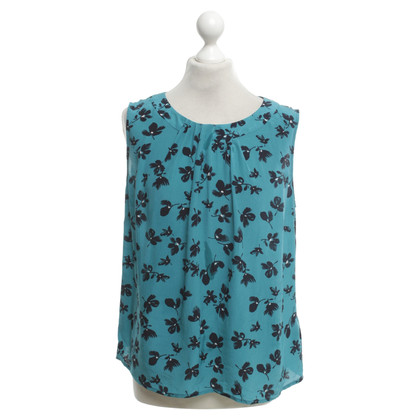 Hobbs Blouse in turquoise