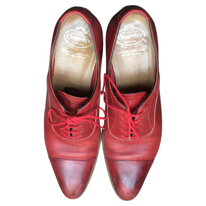 Church's Chaussures en rouge