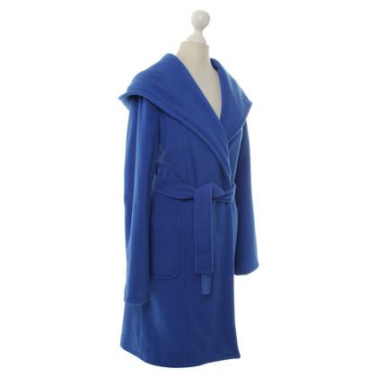 Stefanel Wrap coat in blue
