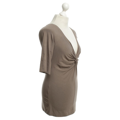Marc Cain T-shirt in Taupe