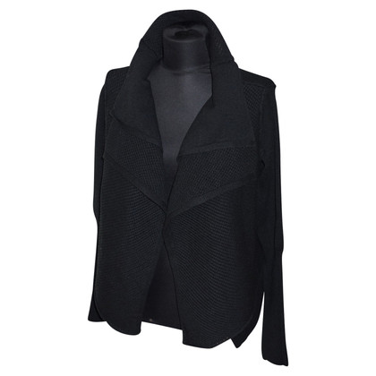 Hugo Boss Oversized Cardigan in black