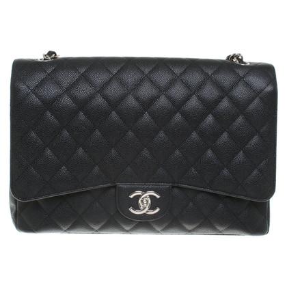 "Chanel ""Jumbo Double Flap Bag"" en noir"