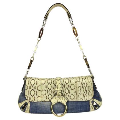 Dolce & Gabbana clutch avec python