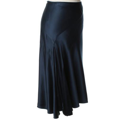 Ralph Lauren Black Label Zijden rok in donkerblauw