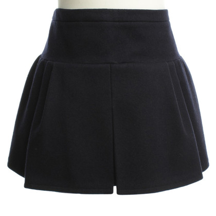 Balenciaga Wool skirt in dark blue