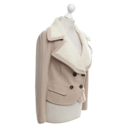 Marc Cain Kort jasje in beige