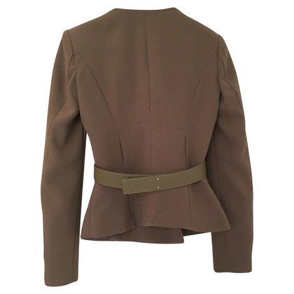 Elisabetta Franchi Blazers in military style
