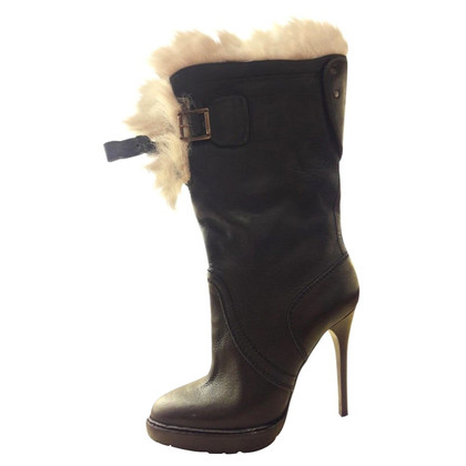 Burberry Prorsum Anckle high heel boots