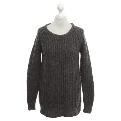 Acne Wollpullover in Grau