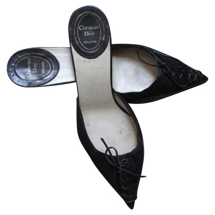 Christian Dior Mules in zwart