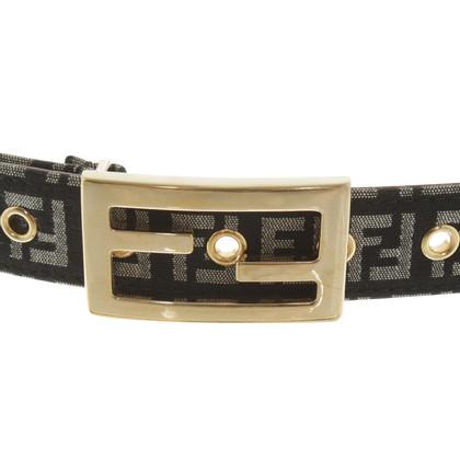 Fendi Cintura con modelli Zucca