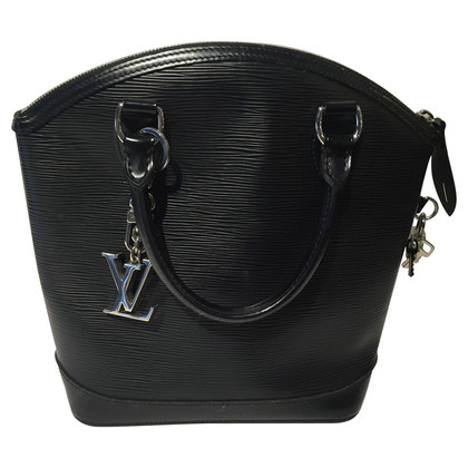 "Louis Vuitton ""Lockit EPI' in black"