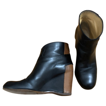 Maison Martin Margiela Two-colored ankle boots