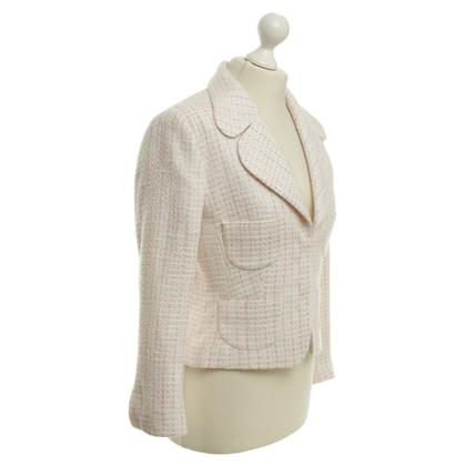 Escada Boucle-Blazer in Pastelfarben