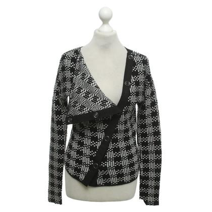 Armani Vest in zwart / wit