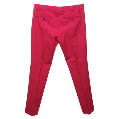 Gucci Gekreukte broek in het rood